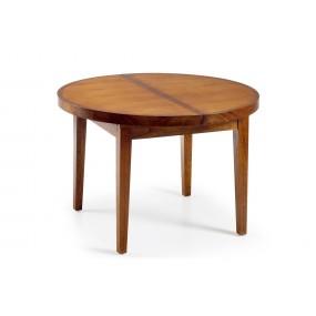 TABLE RONDE MAORI 120 DIAM. EXTENSIBLE 120-170*120*78
