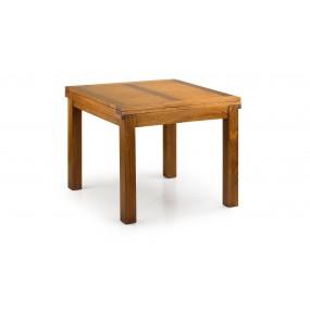 TABLE DE REPAS MAORI EXTENSIBLE 2 RALLONGES 95-180*95*78
