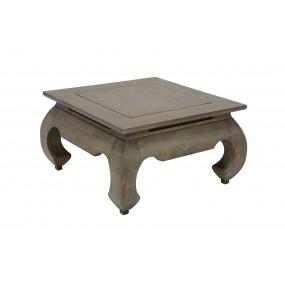 Table basse opium 66x66x35cm plateau 60x60cm Hmong