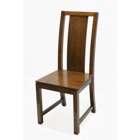 Chaise classique 1 latte verticale Maya