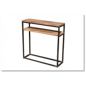 Console en fer & bois 1 étagère