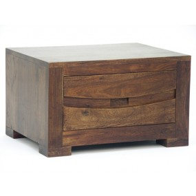 Chevet bois massif 1 tiroir