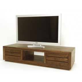 Meuble TV 2 tiroirs 1 niche Hindi
