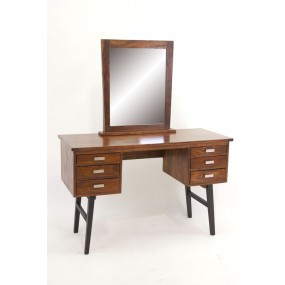 Bureau + miroir 6 tiroirs Hindi