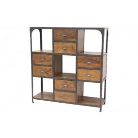 Etagère bibliothèque 8 tiroirs Factory Pachtoune