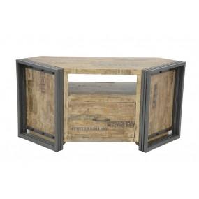 Meuble TV d'angle 1 tiroir Wolof