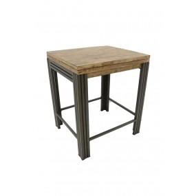 Table de bar rectangle Wolof