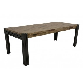 Table repas 220cm extensible Wolof