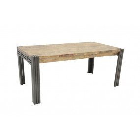 Table repas 180cm extensible Wolof