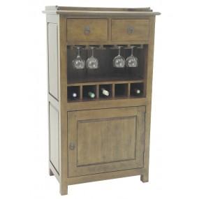 Bar 2 tiroirs 1 porte Yugur