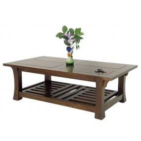 Table basse rectangle Khmer