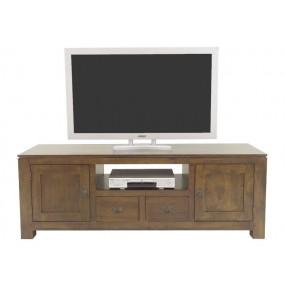 Meuble TV 2 tiroirs 2 portes Maya