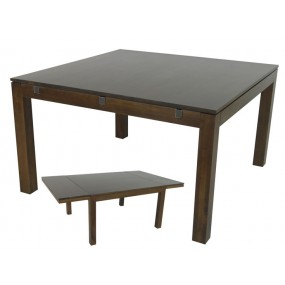 Table repas carrée + extension Maya