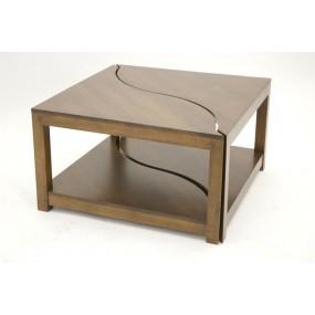 Table basse carrée 2 éléments Kubu