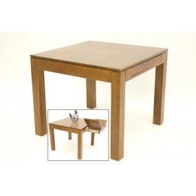 Table repas carrée avec extension Maya