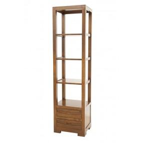 Colonne bibliothèque 2 tiroirs Harari